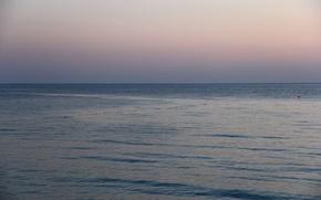 Picture sea, the sun, nature