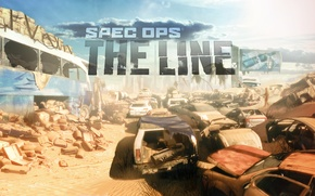 Picture Action, game, games, Spec Ops: The Line, 3rd Person, Softklab, 2K Games, Shooter, Yager Development