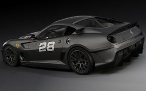Picture art, Ferrari, Supercar, 599XX, dangeruss
