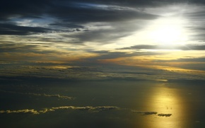 Wallpaper sea, nature, cloud
