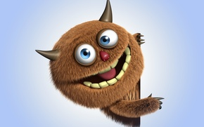 Picture monster, monster, cartoon, character, funny