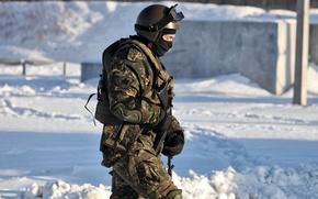Picture SNOW, SOLDIERS, MIA, Commando, FIGHTER