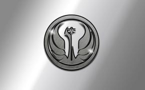 Picture metal, Star Wars, symbol, metal, Star wars, symbol, the old Republic, the Old Republic
