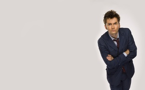 Picture look, background, costume, actor, male, Doctor Who, Doctor Who, BBC, David Tennant, David Tennant, Tenth …