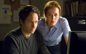 Picture the film, The X-Files, David Duchovny, Gillian Anderson, I want to believe, Classified material, I …