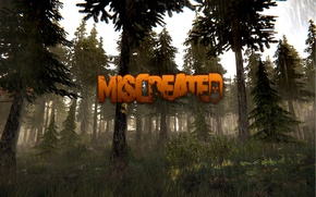 Picture forest, trees, nature, rain, the game, Miscreated