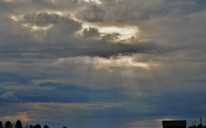 Picture clouds, landscape, nature, overcast