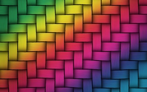 Picture rainbow, colors, colorful, rainbow, network, texture, background, weave, twist