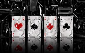Picture black, scheme, Card