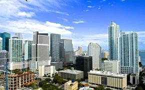 Picture summer, building, home, Miami, FL, Miami, florida, vice city