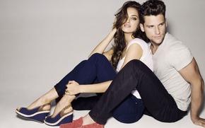 Wallpaper girl, style, advertising, model, fashion, Irina, shoes, Arthur