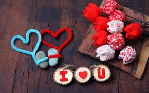 Picture love, hearts, valentine's day