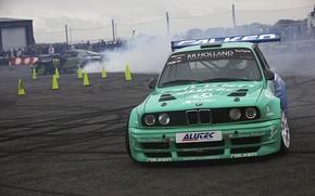 Picture BMW, drift, e30, Hawks, Gymkhana