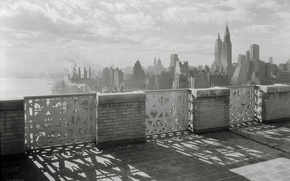 Picture retro, new york, black and white, December, skyscrapers, New York, Wallpaper, wallpaper, Playground, photo, plant, …