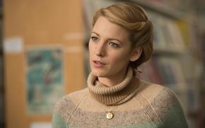 Wallpaper portrait, actress, Blake Lively, blonde