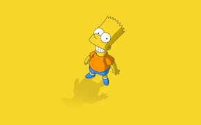 Wallpaper cartoon, the simpsons, simpsons, Bart, bart