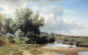 Picture picture, Landscape, Kamenev