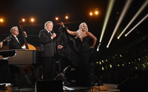 Picture music, music, jazz, jazz, Lady Gaga, Lady Gaga, Grammy, Grammy, Cheek to Cheek, Tony Bennett, …
