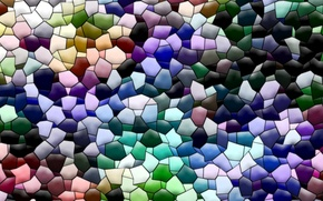 Picture background, abstraction, Wallpaper, color, texture, the volume, figure, Mosaic