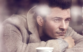 Picture photoshoot, Orlando Bloom, InStyle