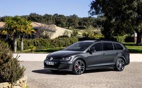 Picture Volkswagen, Golf, Golf, Volkswagen, universal, Type 5G, GTD, 2015, Variant
