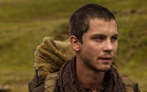 Picture the film, Noah, Logan Lerman