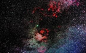 Picture stars, nebula, the universe