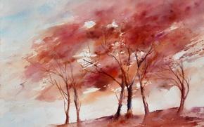 Picture picture, watercolor, nature