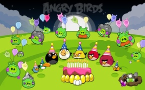 Picture angry birds, happy birthday, images