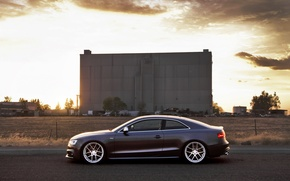 Picture Audi, Audi, coupe, profile, sports car