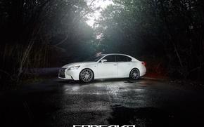 Picture machine, auto, forest, Lexus, auto, F-Sport, Wheels, Concave, GS350