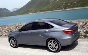 Picture car, auto, Concept, the concept car, Auto, Lada, Lada, Vesta, Vesta