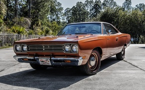 Picture coupe, 1969, Coupe, Plymouth, Plymouth, 426, Hemi, Road Runner, road runner