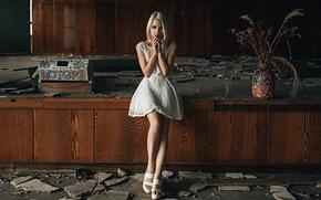 Picture abandoned building, George Chernyadev, Masha Sidorova, lottery, The raffle