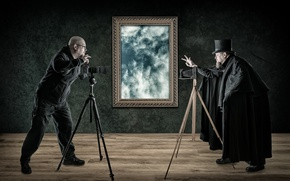Picture picture, duel, photographers