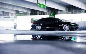 Picture BMW, wheels, side, Black, vossen, 750LI