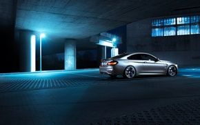 Picture BMW, Shooting, Germany, Coupe, Night, F82, Rear