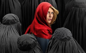 Picture Series, Claire Danes, Homeland