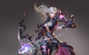 Picture girl, China, the game, Archer, art, costume, character, level, skill