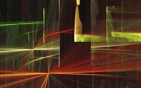 Picture light, line, canvas, color, texture, touch