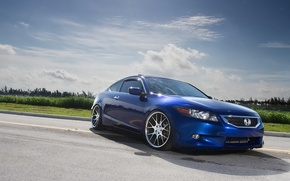 Picture honda, japan, blue, jdm, tuning, accord, low, acura, stance, tlx