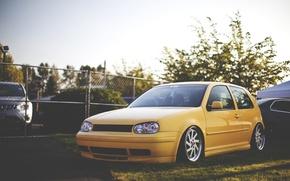 Picture style, Volkswagen, Golf, golf, Volkswagen, stance, mk4, stens