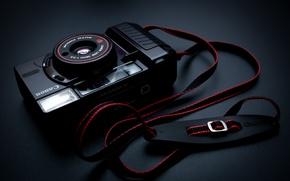 Wallpaper background, camera, Canon Sure Shot AF35 MII