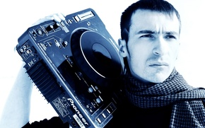 Picture Wallpaper, guy, Boombox