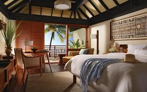 Picture design, style, Villa, interior, Bungalow, bedroom