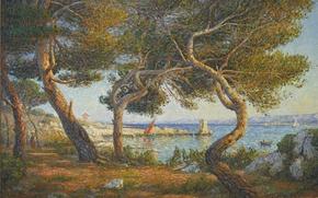 Picture landscape, painting, Francis Picabia