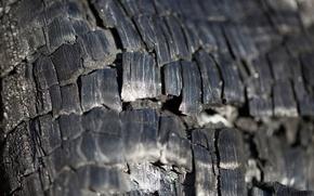 Picture macro, blur, coal