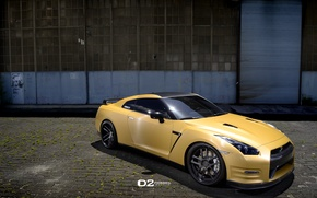 Picture GTR, NISSAN, FORGED, GOLD