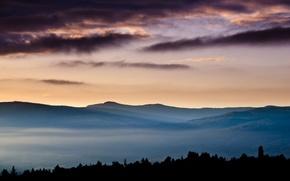Picture landscape, mountains, Nature, picture, masterpiece