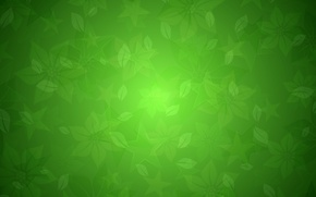Picture texture, green, floral texture